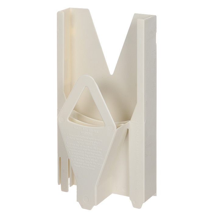 Мультибокс для овощерезки Borner Trend, цвет: белый 117/2105Мультибокс, изготовленный из пищевого пластика - это специальный чехол, предназначенный для безопасного хранения основного комплекта овощерезки Borner. Мультибокс с овощерезкой можно поставить на стол или повесить на стену.Характеристики: Материал: пластик. Цвет: белый. Размер: 25,5 см х 13 см х 6,5 см. Производитель: Германия. Артикул: 117/2.