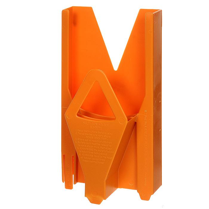 Мультибокс для овощерезки Borner Trend, цвет: оранжевый 117/4117/4Мультибокс, изготовленный из пищевого пластика - это специальный чехол, предназначенный для безопасного хранения основного комплекта овощерезки Borner. Мультибокс с овощерезкой можно поставить на стол или повесить на стену.Характеристики: Материал: пластик. Цвет: оранжевый. Размер: 25,5 см х 13 см х 6,5 см. Производитель: Германия. Артикул: 117/4.