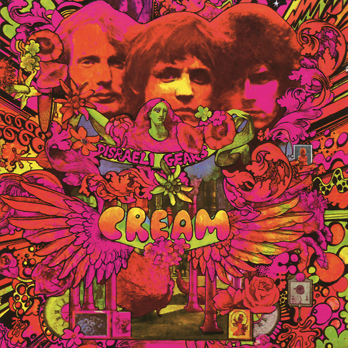 Cream Cream. Disraeli Gears. Deluxe Edition (2 CD) jellyfish jellyfish spilt milk deluxe edition 2 cd