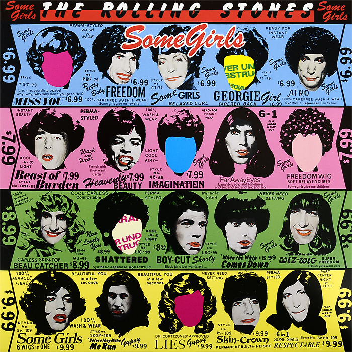 The Rolling Stones The Rolling Stones. Some Girls (LP) бетт мидлер bette midler it s the girls 2 lp
