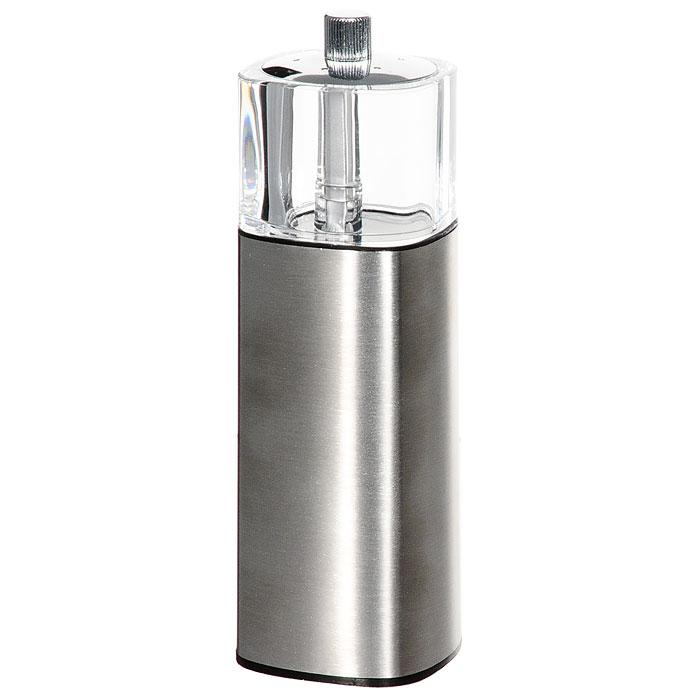 Мельница для специй Borner 912816H374010Мельница для перца Borner с солонкой, изготовленная из пластика и металла, легка в использовании. Стоит только покрутить верхнюю часть мельницы, и вы с легкостью сможете поперчить по своему вкусу любое блюдо. Механизм мельницы изготовлен из керамики. Оригинальная мельница модного дизайна будет отлично смотреться на вашей кухне.Характеристики: Материал: пластик, металл, керамика. Высота: 15,5 см. Размер основания: 4,7 см х 4,7 см. Размер упаковки:15,5 см х 5 см х 5 см. Производитель:Германия. Изготовитель:Россия.