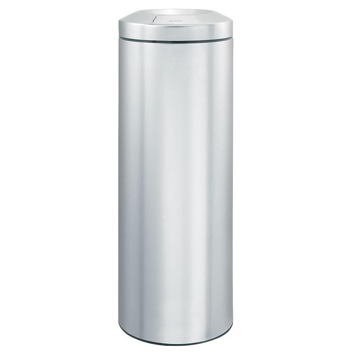 Корзина для бумаг Brabantia Flame Guard, с защитой от возгорания, цвет: матовый стальной, 20 лCLP446Несгораемая корзина для бумаг Flame Guard выполнена из антикоррозийной матовой стали, станет идеальным безопасным решением для вашего дома или офиса. Урна оснащена съемным гасителем огня из нержавеющей стали, который изолирует доступ кислорода в случае возгорания отходов, и огонь гаснет. Содержимое мусорного ведра практически полностью скрыто от глаз, а съемная внутренняя металлическая корзина легко чистится и устойчива к коррозии. Пластиковый защитный обод предотвращает повреждение пола. В комплект входят фирменные мусорные мешки. Модель протестирована и сертифицирована RWTUV Германии. Характеристики:Материал:сталь, пластик. Объем:20 л. Высота корзины:67,5 см. Диаметр корзины:25,1 см. Гарантия производителя: 5 лет.