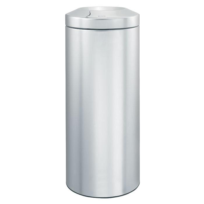 Корзина для бумаг Brabantia  Flame Guard , с защитой от возгорания, цвет: матовый стальной, 30 л - Инвентарь для уборки