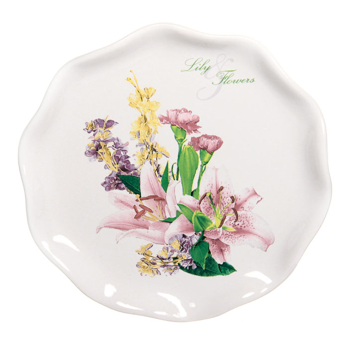 Тарелка десертная Гармония, диаметр 18,5 см115510Десертная тарелка Гармония станет достойным украшением вашего интерьера. Она изготовлена из высококачественной керамики белого цвета и оформлена изысканным цветочным рисунком. Тарелка - наиболее распространенный вид столовой посуды, именно ею мы чаще всего пользуемся во время приема пищи. Оригинальный рисунок поднимет настроение вам и вашим близким. Характеристики: Материал:керамика.Диаметр тарелки:18,5 см.Размер упаковки:18,5 см х 3 см х 19 см.Изготовитель:Китай.Артикул:DFC 01870S-01422.