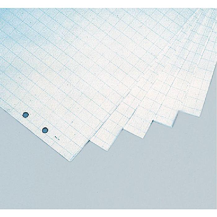 Бумага для флипчарта Magnetoplan в виде блокнота незаменима для проведения эффективных совещаний, презентаций, обучений или мозговых штурмов. Одна сторона листа разлинована в клетку 25 мм х 25 мм, обратная сторона белая без разлиновки. Специальные отверстия дают возможность установить блок на любую модель флипчарта.  Характеристики:  Размер бумаги: 65 см х 98 см.  Количество: 5 блоков по 20 листов.