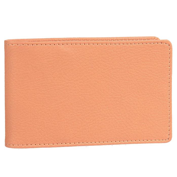Визитница Skiver, цвет: оранжевыйA52_108Компактная горизонтальная визитница Skiver - стильная вещь для хранения визиток. Обложка визитницы выполнена из высококачественной итальянской искусственной кожи с гладкой поверхностью. Внутри находится съемный блок с кармашками, рассчитанный на 14 визиток и четыре кармашка из кожи. Такая визитница станет замечательным подарком человеку, ценящему качественные и практичные вещи. Характеристики: Материал: искусственная кожа, пластик. Размер визитницы: 11 см х 6,8 см. Цвет: оранжевый. Размер упаковки: 11,4 см х 7 см х 1,5 см. Изготовитель: Финляндия. Артикул: 67966.