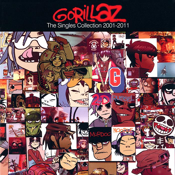 Gorillaz Gorillaz. The Singles Collection 2001-2011 gorillaz gorillaz plastic beach 2 lp