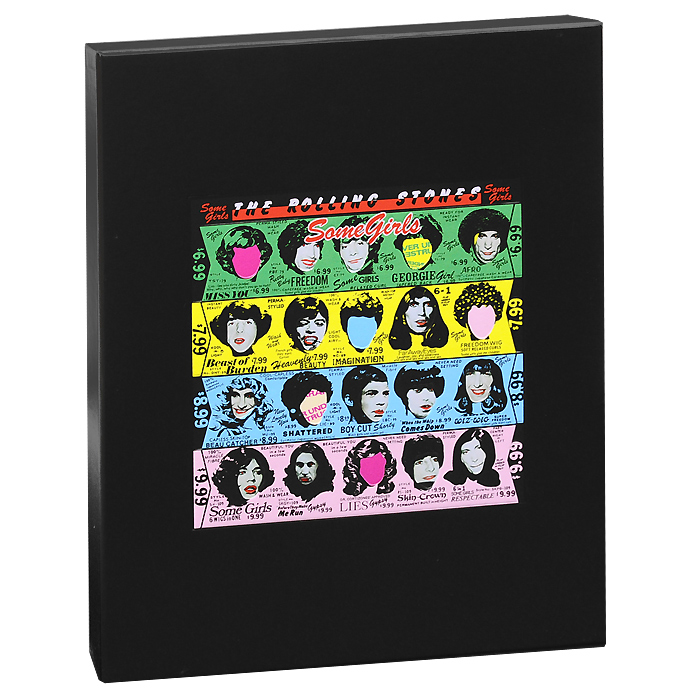 The Rolling Stones The Rolling Stones. Some Girls. Super-Deluxe Edition (2 CD + DVD + LP) the who the who quadrophenia super deluxe limited edition 4 cd dvd lp