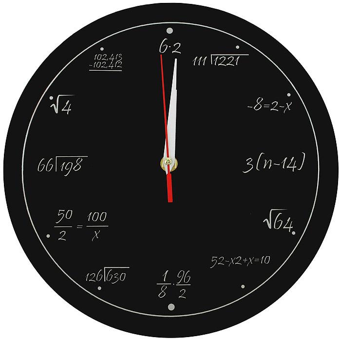 Настенные античасы Забавная математика. 92671 часы эврика античасы классика белая стеклянные