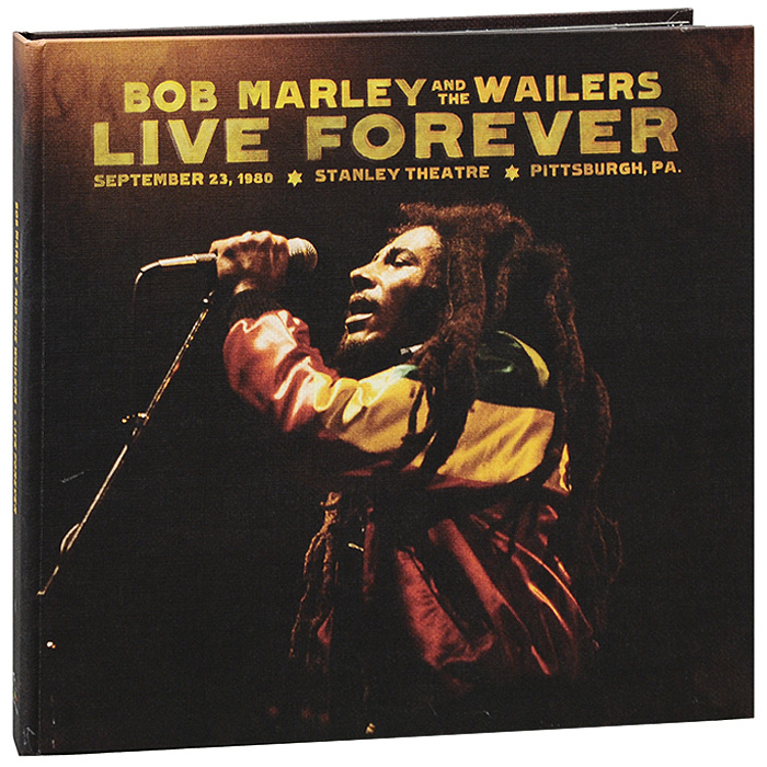 Боб Марли,The Wailers Bob Marley And The Wailers. Live Forever (2 CD + 3 LP) partners lp cd