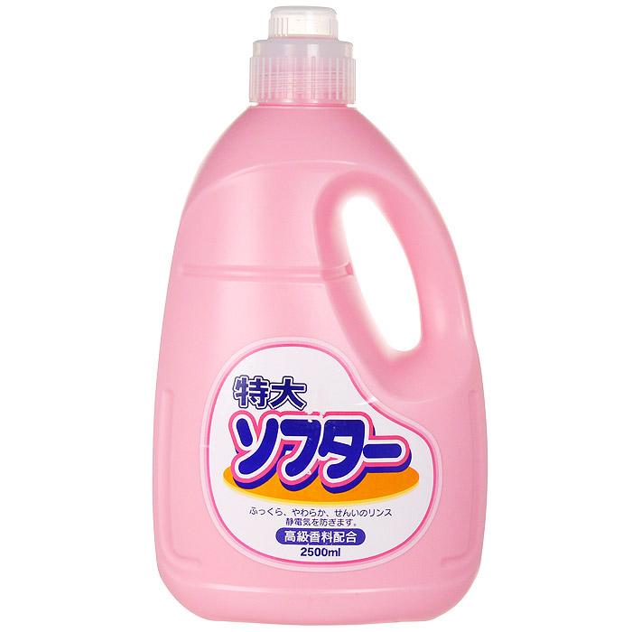Кондиционер для белья Soft Pink, 2,5 лS03301004Кондиционер Soft Pink в экономичной упаковке подходит для хлопкового, шерстяного и синтетического белья. Предотвращает образование катышек, статического электричества, сохраняет качество ткани.Характеристики: Объем:2,5 л. Производитель:Япония. Товар сертифицирован.