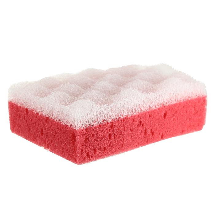 Губка для тела Eva, с массажным слоем, цвет: красный5010777139655Губка для тела Eva изготовлена из пенополиуретана и оснащена массажным слоем. Губку можно использовать в ванной, в бане или в сауне. Она улучшает циркуляцию крови и обмен веществ, делает кожу здоровой и красивой.Подходит для ежедневного применения.