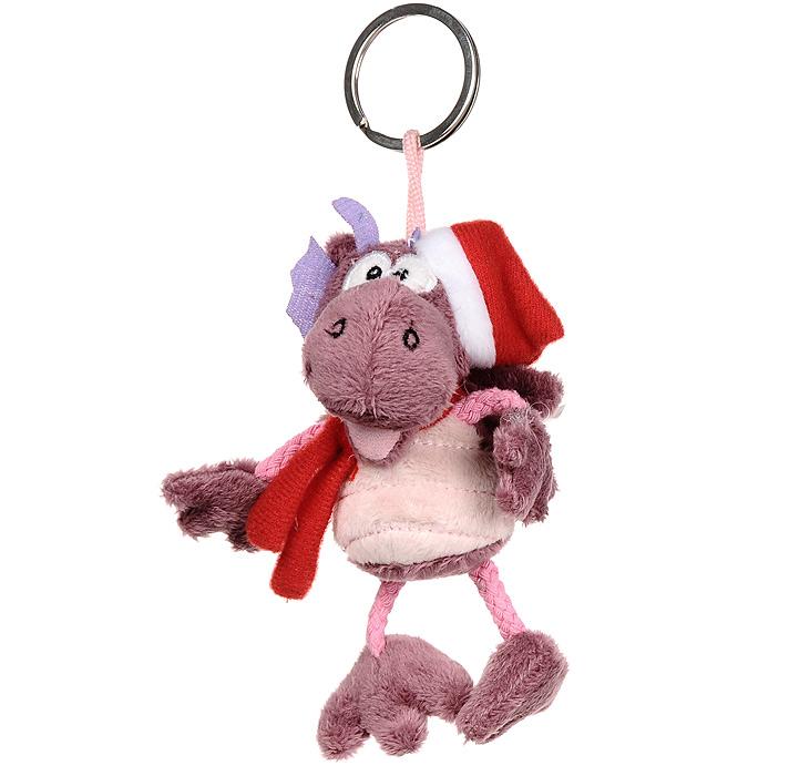 Мягкая игрушка-брелок Дракон. TVB-2012/3PБрелок для ключейМягкая игрушка-брелок Дракон - оригинальный подарок к Новому 2012 году. Дракон одет в красный колпачок и шарфик. Дракон выполнен из необычайно мягкого и безопасного материала, поэтому с ним смогут играть даже самые маленькие дети.Подарив такую мягкую игрушку, вы можете быть уверены, что она не оставит равнодушным того, кому предназначается. Характеристики: Материал: текстиль, металл. Высота игрушки: 11 см. Производитель: Китай. Артикул: TVB-2012/3P. Mister Christmas как марка, стоявшая у самых истоков новогодней индустрии в России, сегодня является подлинным лидером рынка. Продукция марки обрела популярность и заслужила доверие самого широкого круга потребителей. Миссия Mister Christmas - это одновременно и возрождение утраченных рождественских традиций, и привнесение модных тенденций в празднование Нового года и Рождества, развитие новогодней культуры в целом. Благодаря таланту и мастерству дизайнеров, технологиям и опыту мировой новогодней индустрии товары от Mister Christmas стали настоящим символом Нового года, эталоном качества и хорошего вкуса.