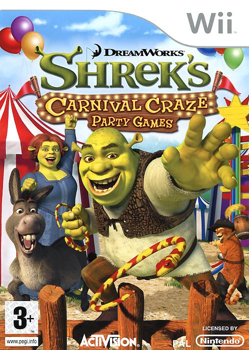 Shrek's Carnival Craze Party Games (Wii)