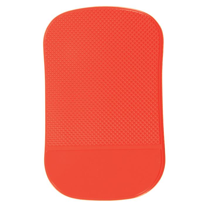 Липкий коврик в машину Залипала, цвет: красный21395599Коврик Залипала одной стороной прочно крепится к любой поверхности - к приборной панели автомобиля, столу, холодильнику. А другой цепко удерживает все, что вы рискуете потерять - мобильный телефон, ключи, визитницу, зажигалку.Характеристики:Материал: силикон. Размер коврика: 9 см х 14 см. Производитель: Китай. Артикул:ELP-01.Товары с маркойExpedition- это выбор целеустремленных, бросающих себе вызов людей, готовых к самым сложным испытаниям, ценящих надежность и высокое качество во всем. Экспедиция - это страсть к успеху и любовь к дороге и открытиям.В походе, на рыбалке, в экспедиции или в других экстремальных условиях вы можете оказаться в ситуации, когда от надежности снаряжения будет зависеть ваш комфорт и ваша безопасность! Продукты под торговой маркой Expedition пригодятся в самых суровых испытаниях, которым может подвергнуться человек во время путешествия.