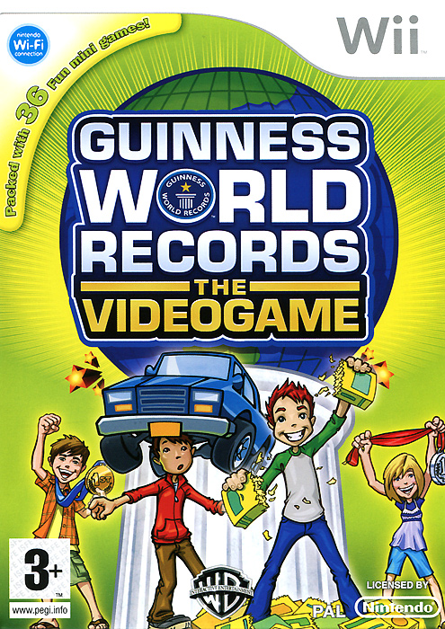 Guinness World Records the Videogame (Wii) guinness world records the videogame wii