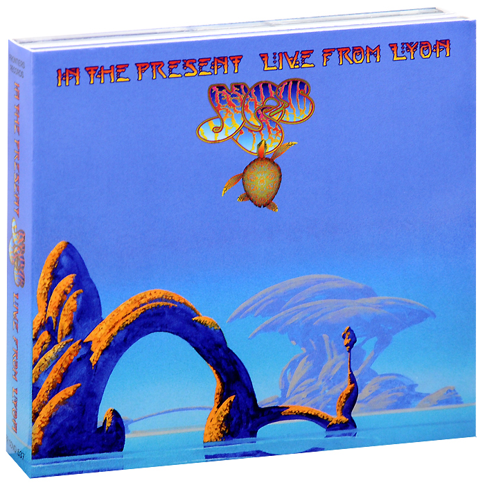 Yes Yes. In The Present. Live From Lyon (2 CD + DVD) футболка print bar feed rage repeat