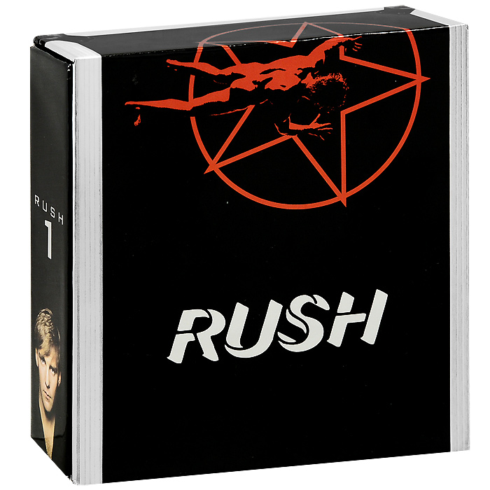 Rush Rush. Sector 1 (5 CD + DVD) rush rush moving pictures lp