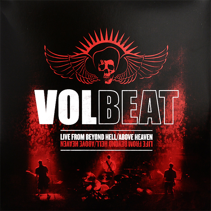 Volbeat Volbeat. Live From Beyond Hell / Above Heaven (3 LP) social distortion social distortion somewhere between heaven and hell lp