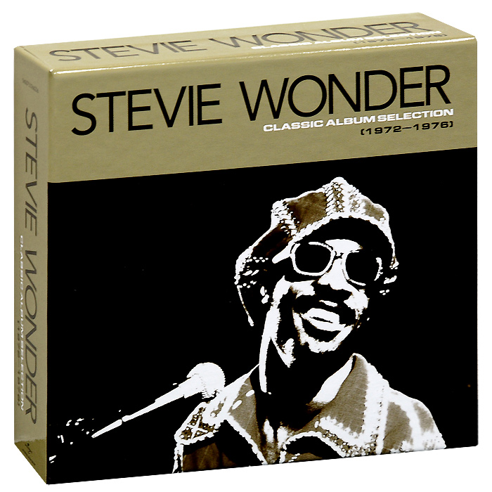 Стиви Уандер Stevie Wonder. Classic Album Selection (1972-1976) (5 CD) cd stevie nicks the wild heart