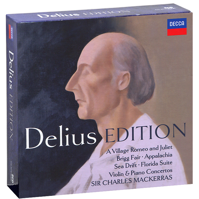 Delius Edition (8 CD) the gingerbread man