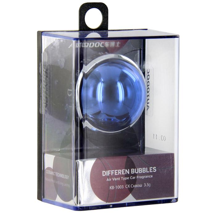 Освежитель воздуха на дефлектор Differen Bubbles. Cквош, 3,5 гSVC-300Освежитель воздуха Differen Bubbles. Cквош предназначен на дефлектор обдува. Эффективно устраняет посторонние запахи и наполняет салон автомобиля неповторимым ароматом.Срок действия до 60 дней. Характеристики:Вес: 3,5 г. Аромат: сквош. Диаметр освежителя: 3,5 см. Размер упаковки: 7 см х 5 см х 3,7 см. Производитель: Китай. Артикул:KB-1003.