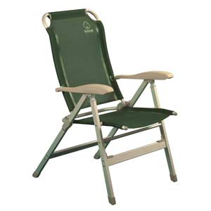 Кресло складное Greenell FC-1067742Кемпинговое кресло с регулировкой наклона спинки. 8 положений фиксируются подлокотниками. Ткань: сетчатый полиэстер - легко моется и устойчив к ультрафиолету. Характеристики:Материал: текстиль, металл. Максимальная нагрузка: 120 кг. Размер кресла: 49 см х 43 см х 42/113 см. Артикул: 71101.