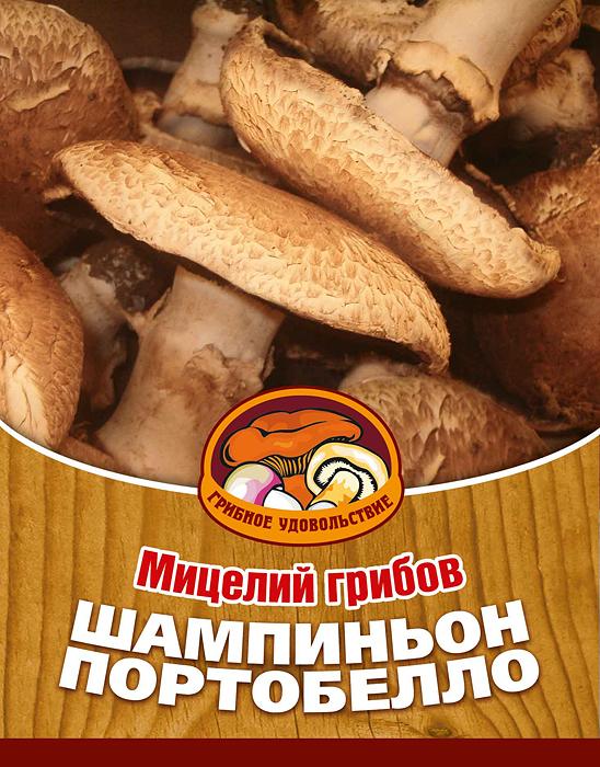 Мицелий грибов Шампиньон портобелло, субстрат. Объем 60 мл мицелий грибов груздь белый субстрат 60 мл