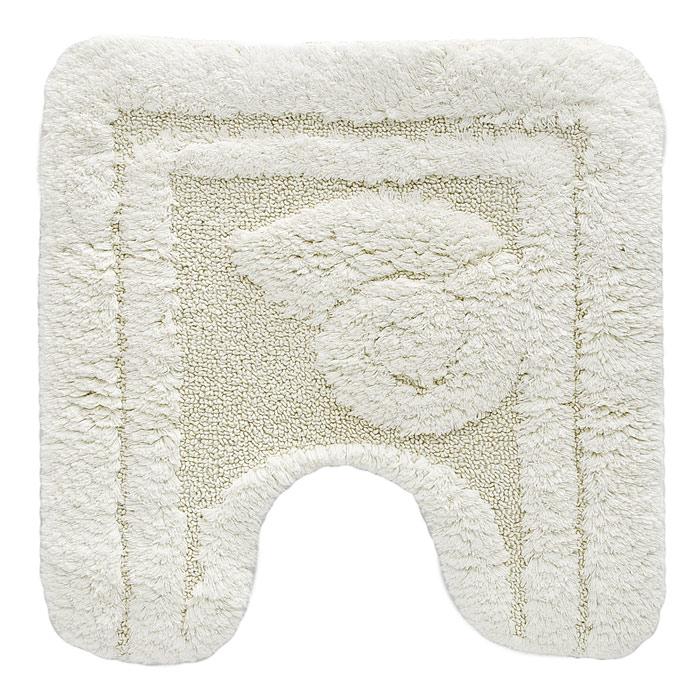 Коврик для туалета Escargot, цвет: светло-бежевый, 50 x 50 см25051 7_зеленыйКоврик для туалета Escargot светло-бежевого цвета выполнен из натурального хлопка. Прорезиненная основа коврика позволяет использовать его во влажных помещениях, предотвращает скольжение коврика по гладкой поверхности, а также обеспечивает надежняую фиксацию ворса. Коврик добавит тепла и уюта в ваш дом. Характеристики:Материал: 100% хлопок. Размер:50 см х 50 см. Производитель: Швейцария. Изготовитель:Бельгия. Артикул:1041083.