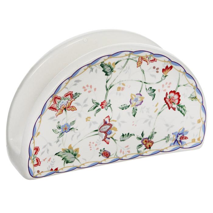 Салфетница Imari Букингем24871Салфетница Букингем изготовлена из доломитовой керамики и покрыта сверкающей глазурью, не содержащей свинца. Такая салфетница великолепно украсит праздничный стол.Доломитовая керамика - высококачественная керамика, основным ингредиентом которой является твердый доломит. Изделия, выполненные из нее, легкие, белоснежные, прочные и устойчивы к высоким температурам. Характеристики: Материал: керамика. Размер салфетницы (Д х Ш х В): 13,5 см х 5 см х 10 см. Размер упаковки: 13,5 см х 8 см х 5,5 см. Изготовитель: Китай. Артикул: IM65080-A218AL.