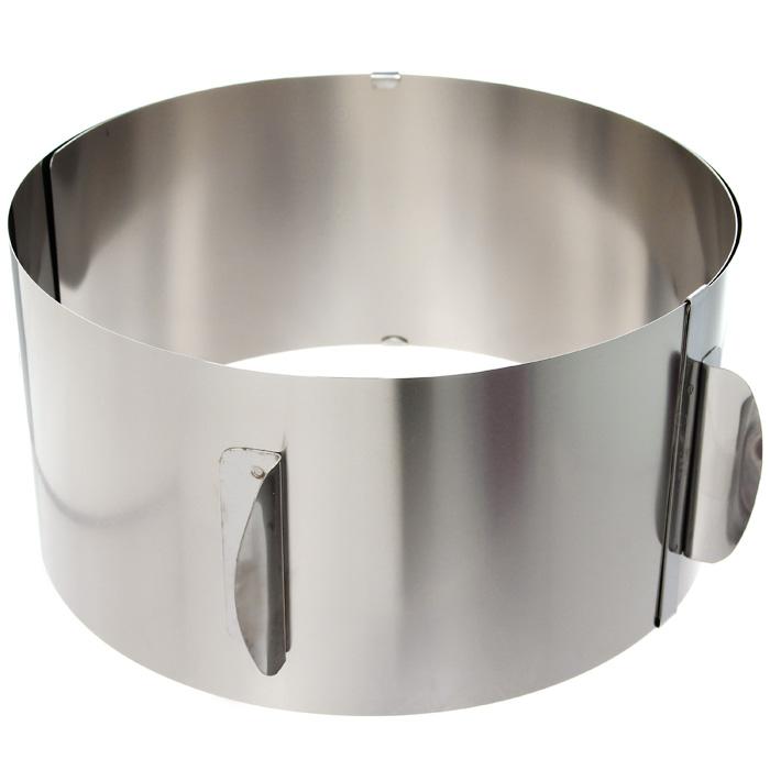 Кольцо для выпечки Baking XXLFS-91909Кольцо для выпечки Gefu Baking XXL изготовлено из нержавеющей стали. Конструкция кольца такова, что позволяет регулировать диаметр от 16,5 см до 32 см. Для облегчения процесса чистки полностью выпрямляется. Можно мыть в посудомоечной машине. Характеристики: Материал: сталь. Диаметр: 16,5 см - 32 см. Высота: 10 см. Размер упаковки: 17,8 см х 16,8 см х 10,5 см. Производитель: Германия. Артикул: 14304.
