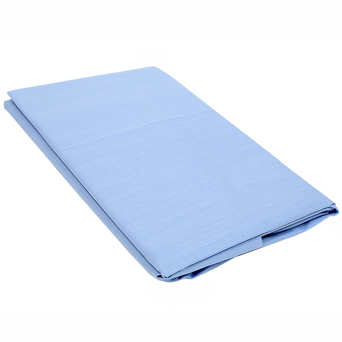 Наволочка Style, цвет: голубой, 70 см х
