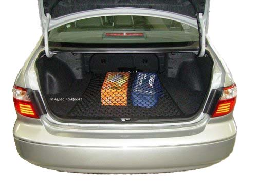 Сетка напольная Классическая, 75 х 75 смFS-80423Сетка напольная Классическая изготовлена из переплетенных нитей диаметром 5 мм, размером ячейки 40х40 мм, периметр сетки выполнен из эластичного шнура. В багажнике автомобиля огромное пространство, в котором не большие предметы всегда прыгают, гремят и летают из стороны в сторону. Напольная сетка в багажник автомобиля избавит водителя и от лишнего шума и бардака в багажнике. Представьте, вы купили утюг, чайник и пару обуви, все это положили в багажник. Отъехали от торгового центра (при этом проехали пару лежачих полицейских), затем сделали не один десяток поворотов, пока добрались до дома. Открыв багажник около дома, вы видите, что все вещи разбросаны по разным углам багажника. Проблема не большая, но при наличии напольной сетки вещи остались бы на тех местах, на которые их положили.Сетка на эластичной резинке за счет чего ее размер можно регулировать.Максимальный размер (в растянутом состоянии): 95 х 95 см. Характеристики: Материал: полипропилен 100%, пластик.Размер: 75 см х 75 см.Цвет: черный.Размер упаковки:17 см х 25 см х 4 см.Производитель: Россия. Артикул: set 001.