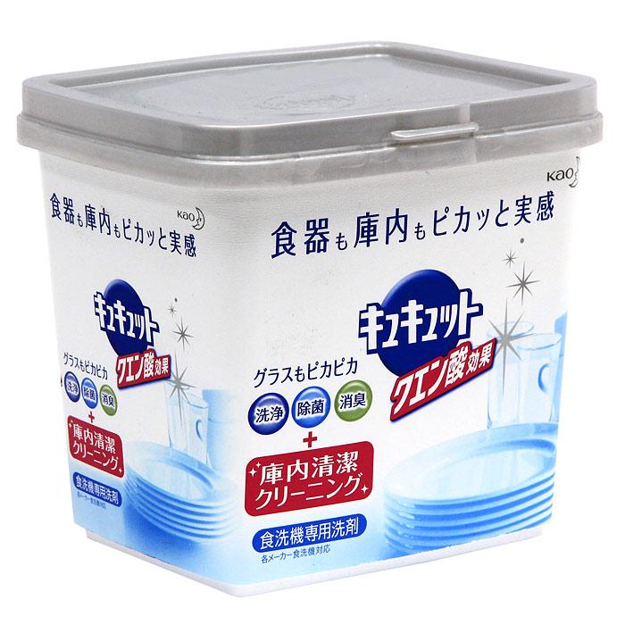 Порошок для посудомоечной машины KAO  Citric Acid Effect , аромат грейпфрута, 680 г504Порошок для посудомоечной машины с легким ароматом грепфрута. Новая формула порошка снимает грязь не только с посуды, а также заботится о чистоте посудомоечной машины. Компоненты тщательно обволакивают каждую частицу грязи и не дают ей прилипнуть к стенкам машины. Двойная сила частиц кислорода и лимонной кислоты в составе также легко удаляет подгары, снимает тусклость со стеклянных стаканов, которые было сложно смыть обычными моющими средствами. Порошок укомплектован мерной ложечкой.Нельзя использовать на лакированной, серебряной, алюминиевой посудах, на хрустале, на посуде с позолотой или с серебряным покрытием. Характеристики: Вес: 680 г. Производитель: Япония. Артикул: 25982. Японская компания KAO занимается разработкой и производством продукции для повседневной жизни, а также товаров промышленного назначения. Особое внимание компания уделяет разработке новых товаров. По многим позициям компания занимает лидирующее место в Японии.