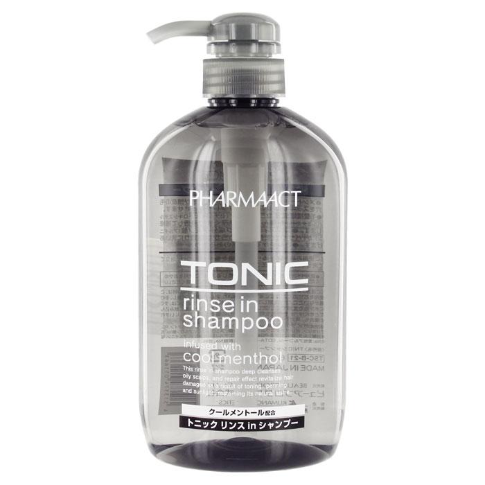 Шампунь для мужчин Pharmaact 2 в 1, тонизирующий, для жирных волос, 600 мл81601069Мужской тонизирующий шампунь 2 в 1 Pharmaact содержит ментол и подходит для жирных волос. Глубоко очищает и восстанавливает волосы, поврежденные после тонирования, солнечного воздействия, возвращая им природный блеск. Ментол оказывает тонизирующие действие, оставляя приятное ощущение свежести и прохлады. Входящие в состав аминокислоты и керамиды-6 поддерживают естественную увлажненность, придают волосам сияние и блеск, защищают от воздействия вредных факторов. Характеристики:Объем: 600 мл. Производитель: Япония. Артикул: KY-43. Товар сертифицирован.