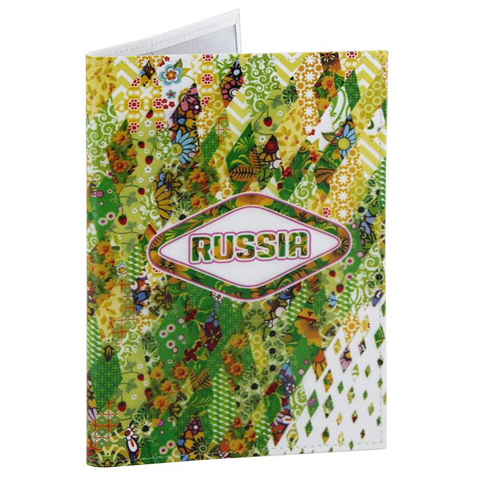 Обложка для паспорта Perfecto Russia-Green. PS-GL-0024490300нОбложка для паспорта Russia-Green, выполненная из натуральной кожи, оформлена ярким орнаментом. Такая обложка не только поможет сохранить внешний вид ваших документов и защитит их от повреждений, но и станет стильным аксессуаром, идеально подходящим вашему образу. Яркая и оригинальная обложка подчеркнет вашу индивидуальность и изысканный вкус. Обложка для паспорта стильного дизайна может быть достойным и оригинальным подарком.Характеристики: Материал: натуральная кожа, пластик.Размер (в сложенном виде): 9,5 см x 13,5 см.Производитель: Россия.Артикул: PS-GL-0024.