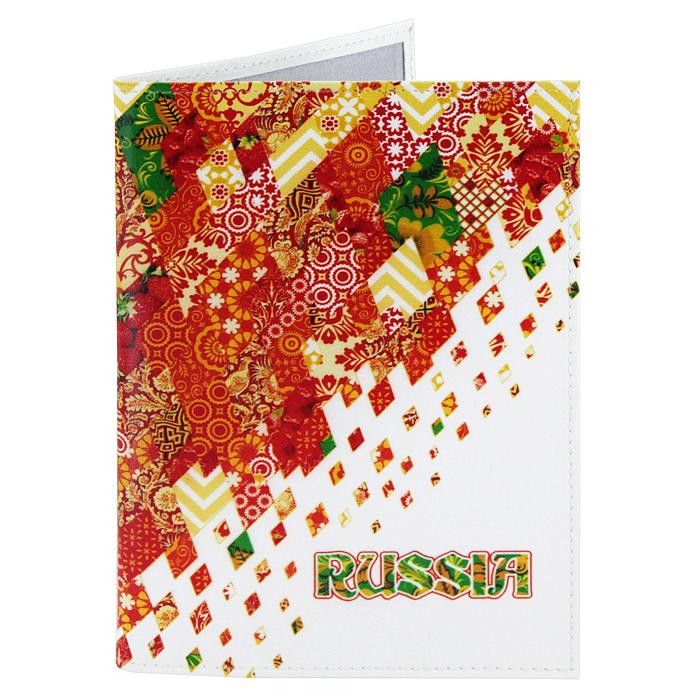 Обложка для паспорта Perfecto Russia-Red. PS-GL-0021345/К_коричневыйОбложка для паспорта Russia-Red, выполненная из натуральной кожи, оформлена ярким орнаментом. Такая обложка не только поможет сохранить внешний вид ваших документов и защитит их от повреждений, но и станет стильным аксессуаром, идеально подходящим вашему образу. Яркая и оригинальная обложка подчеркнет вашу индивидуальность и изысканный вкус. Обложка для паспорта стильного дизайна может быть достойным и оригинальным подарком.Характеристики: Материал: натуральная кожа, пластик.Размер (в сложенном виде): 9,5 см x 13,5 см.Производитель: Россия.Артикул: PS-GL-0021.