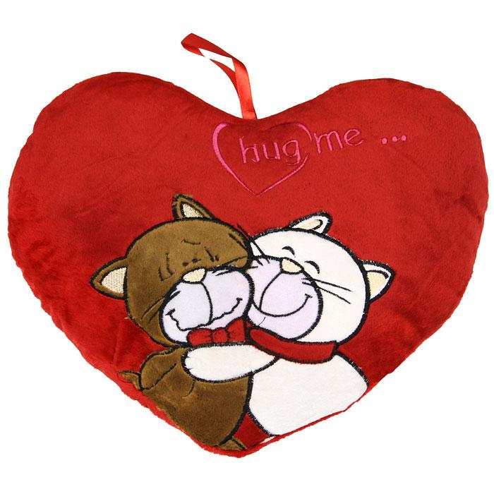 Подушка декоративная ТМ Коллекция Сердце-34630003364517Декоративная подушка Сердце-3 выполнена из искусственного меха красного цвета и украшена аппликацией. Петля в верхней части позволит повесить подушку в удобном для вас месте.Такая подушка будет прекрасным подарком вашим родным и друзьям. Характеристики:Материал верха: синтетический мех Вельбоа. Наполнитель: холофайбер. Размер: 30 см х 34 см. Изготовитель: Китай. Артикул: СВП-40х40/3.
