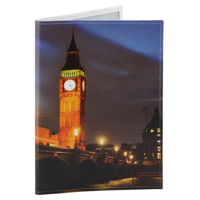 Обложка для паспорта Perfecto Вечерний Лондон. PS-PR-0035OK415Обложка для паспорта Вечерний Лондон, выполненная из натуральной кожи, оформлена изображением городского пейзажа. Такая обложка не только поможет сохранить внешний вид ваших документов и защитит их от повреждений, но и станет стильным аксессуаром, идеально подходящим вашему образу. Яркая и оригинальная обложка подчеркнет вашу индивидуальность и изысканный вкус. Обложка для паспорта стильного дизайна может быть достойным и оригинальным подарком.Характеристики: Материал: натуральная кожа, пластик.Размер (в сложенном виде): 9,5 см x 13,5 см.Производитель: Россия.Артикул: PS-PR-0035.