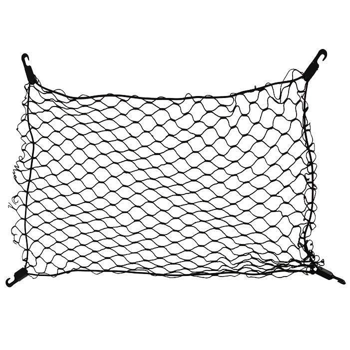 Сетка напольная Экономичная, 75 х 75 см15119293Сетка напольная Экономичная изготовлена из переплетенных нитей диаметром 3 мм, размером ячейки 40х40 мм, периметр сетки выполнен из эластичного шнура. Такая сетка рекомендуется для перевоза легких предметов при общей массе не более 20 кг. Внешний вид сетки - незаметная, но крепкая конструкция (порвать невозможно). В багажнике автомобиля огромное пространство, в котором не большие предметы всегда прыгают, гремят и летают из стороны в сторону. Напольная сетка в багажник автомобиля избавит водителя и от лишнего шума и бардака в багажнике. Представьте, вы купили утюг, чайник и пару обуви, все это положили в багажник. Отъехали от торгового центра (при этом проехали пару лежачих полицейских), затем сделали не один десяток поворотов, пока добрались до дома. Открыв багажник около дома, вы видите, что все вещи разбросаны по разным углам багажника. Проблема не большая, но при наличии напольной сетки вещи остались бы на тех местах, на которые их положили. Характеристики: Материал: полипропилен 100%, пластик.Размер:75 см х 75 см.Цвет: черный.Размер упаковки:17 см х 25 см х 4 см.Производитель: Россия. Артикул: set 009.