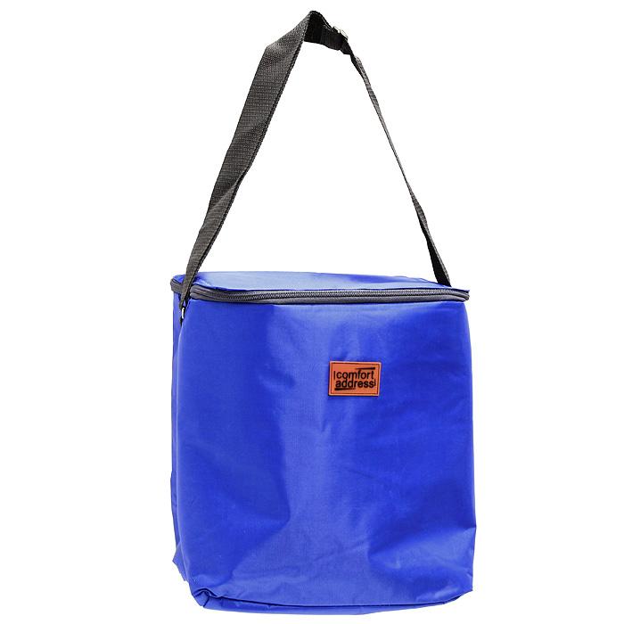 Сумка-холодильник EASY, цвет: синий, 18 л43229Сумка-холодильник EASY предназначена для сохранения температуры продуктов и напитков. Она изготовлена из текстильных материалов с теплоизолирующей подкладкой. Сумка-холодильник подходит для транспортировки продуктов и напитков. Особенности сумки-холодильник EASY: внешний слой - это крепкая ткань с непромокаемой пропиткой многослойная изоляция внутренний слой серебристого цвета абсолютно герметичен сумка работает максимально эффективно при полном заполнении сохраняет низкую температуру до 6 часов без аккумулятора холода для длительного поддержания температуры рекомендуется пользовать аккумуляторы температуры (не входят в комплект) из расчета 200 грамм на каждые 6 литров объема. рабочая температура сумки от +50°С до -20°С. Внимание! Не следует хранить в сумке острые предметы, они могут повредить внутренний слой. Характеристики: Материал:полиэстер, ПВХ. Объем: 18 л. Размер: 26 см х 31 см х 19 см. Рабочая температура сумки: +50°С до -20°С. Цвет:синий. Производитель: Россия.Артикул: ice 033.