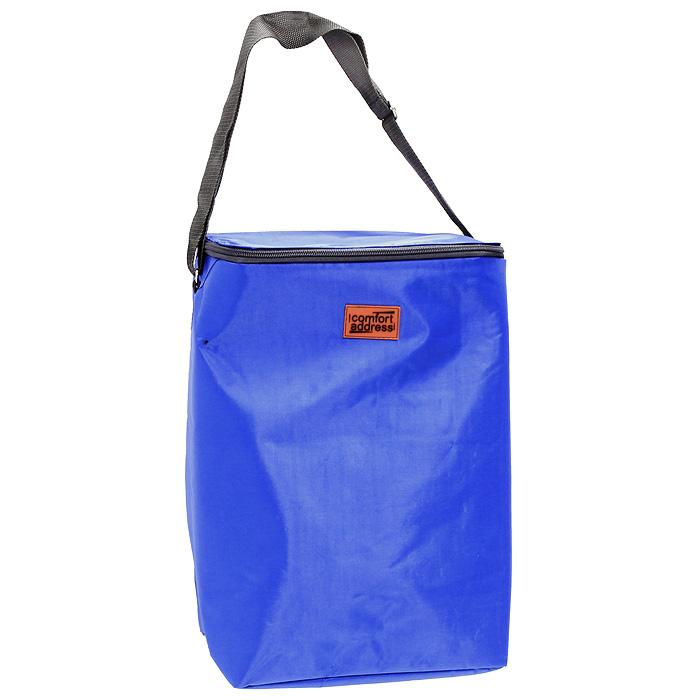 Сумка-холодильник EASY, цвет: синий, 24 лice 034Сумка-холодильник EASY предназначена для сохранения температуры продуктов и напитков. Она изготовлена из текстильных материалов с теплоизолирующей подкладкой. Сумка-холодильник подходит для транспортировки продуктов и напитков. Особенности сумки-холодильник EASY: внешний слой - это крепкая ткань с непромокаемой пропиткой многослойная изоляция внутренний слой серебристого цвета абсолютно герметичен сумка работает максимально эффективно при полном заполнении сохраняет низкую температуру до 6 часов без аккумулятора холода для длительного поддержания температуры рекомендуется пользовать аккумуляторы температуры (не входят в комплект) из расчета 200 грамм на каждые 6 литров объема. рабочая температура сумки от +50°С до -20°С. Внимание! Не следует хранить в сумке острые предметы, они могут повредить внутренний слой. Характеристики: Материал:полиэстер, ПВХ. Объем: 24 л. Размер: 26 см х 41 см х 19 см. Рабочая температура сумки: +50°С до -20°С. Цвет:синий. Производитель: Россия.Артикул: ice 034.