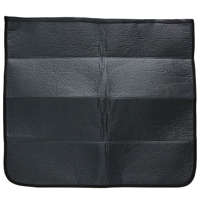 Накидка на бампер Comfort Adress, цвет: серый, 75 см х 65 см98298130Накидка на бампер Comfort Adress создана защищать одежду от грязи, а бампер от царапин. Не испачкать брюки о грязный бампер, комфортно доставать сумки из багажника - желание каждого водителя. А царапины, оставленные на бампере большими чемоданами отпускников - ведь это влияет на стоимость вашего автомобиля. Накидка, выполненная из плотной ткани, крепится к полу багажника на липучке. Складывается накидка - грязь к грязи, не пачкая руки. В сложенном виде она очень компактна и занимает всего 10 см. Легко стирается. Характеристики: Материал верха: непромокаемая ткань ПВХ 150D. Материал прослойки: поролон 3 мм. Материал подкладки: спанбонд 250 гр/м. Размер: 75 см х 65 см. Цвет: черный. Производитель: Россия. Артикул: daf 007.