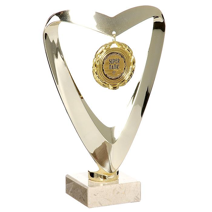 Кубок сувенирный Super Папа! кубок город подарков руководитель лучший в профессии высота 18 см