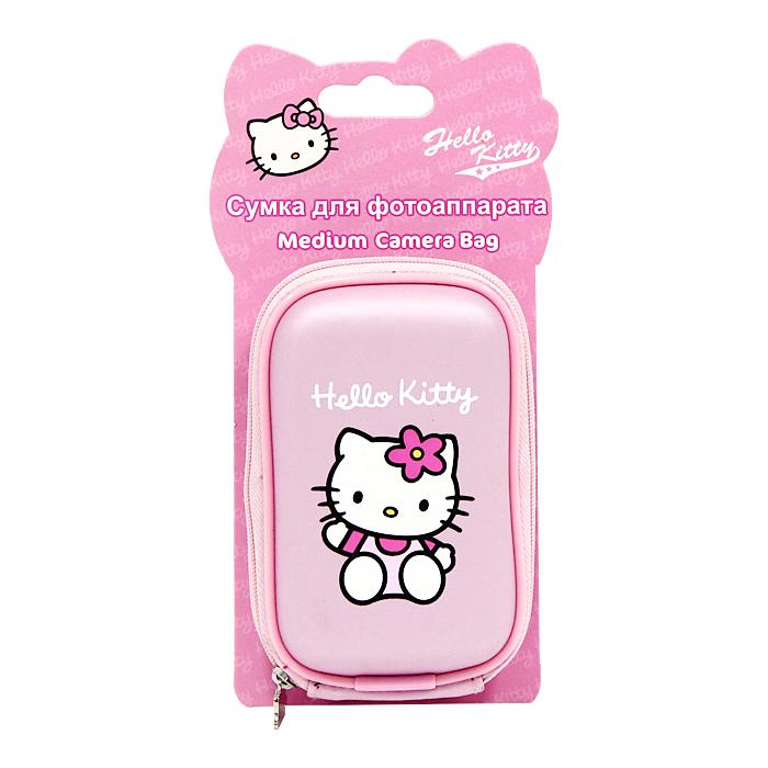 Сумка для фотоаппарата Hello KittyCS15TR01-I5Стильная сумка для фотоаппарата Hello Kitty на застежке-молнии, выполненная из мягкого пластика в розовом цвете и оформленная изображением всеми любимой очаровательной кошечки и логотипом Hello Kitty, непременно, понравится вашей малышке. Пластиковая сумочка оснащена карабином для удобного ношения на поясе и ремешком для переноски на шее.Порадуйте свою малышку таким замечательным подарком.Характеристики:Материал: полиэстер, пластик, металл. Размер сумочки: 8,5 см x 12,5 см x 4 см. Изготовитель:Китай.