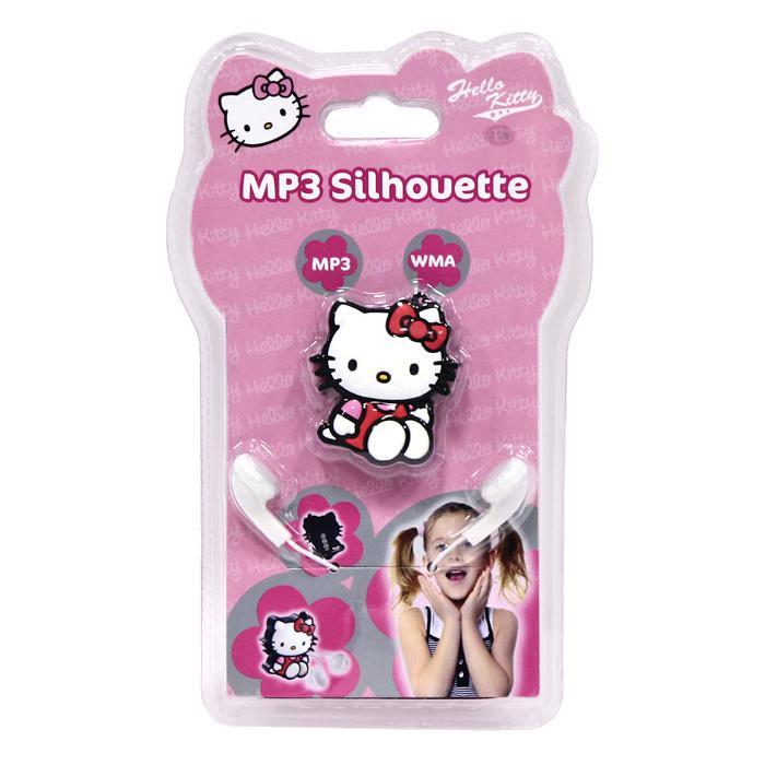 MP3-плеер Hello Kitty, 2 Gb. HEM060CS3WOMP3-плеер Hello Kitty, выполненный в виде фигурки всеми любимой очаровательной кошечкой, сочетает в себе эффектный дизайн и портативность. Плеер, работающий от аккумулятора, подключается через USB-кабель для загрузки музыки с ПК или ноутбука. Наушники входят в комплект. Возможности плеера:· Загрузка до 500 песен · Воспроизведение файлов в форматах MP3 и WMA · Загрузка музыки с компьютера по USB кабелю · Воспроизведение/Пауза, Следующий трек и Предыдущий трек · Встроенная аккумуляторная батарея.Характеристики:Объем памяти: 2 Гб. Размер: 4,5 см x 5 см x 1,5 см. Музыкальные форматы: MP3, WMA. Операционная система: MS Windows 2000, XP, Vista, Windows 7. Размер упаковки: 13 см x 21 см x 2,5 см. Изготовитель:Китай.
