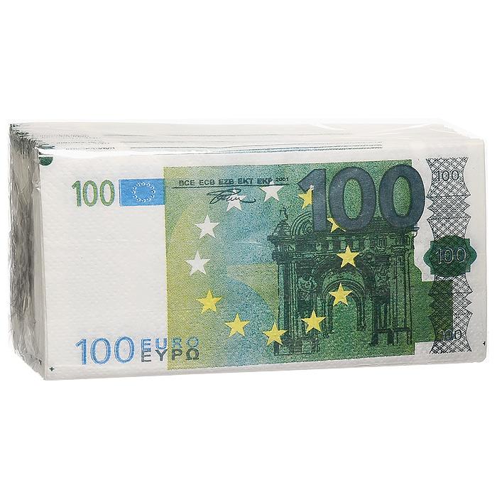 Салфетки Пачка 100 евро92422Качественные бумажные двухслойные салфетки Пачка 100 евро с изображением купюр в 100 евро - оригинальный сувенир для людей, ценящих чувство юмора. Характеристики: Размер упаковки: 16,5 см x 8,5 см x 4 см. Размер салфетки: 33 см x 33 см. Материал: бумага. Производитель: Россия. Артикул: 92422.