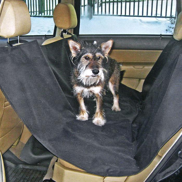"""Накидка для перевозки собак """"Comfort Adress"""", цвет: черный, 150 см х 150 см, Comfort Address"""