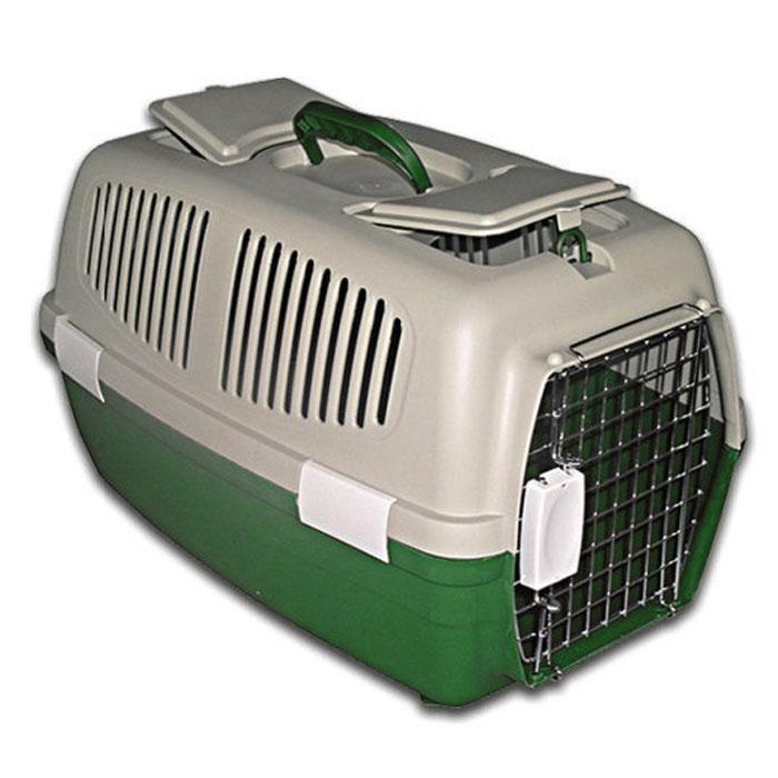 Переноска пластиковая Triol с замком, цвет: зеленый, 62 см х 34 см х 36 смFS-03Пластиковая переноска Triol предназначена для перевозки животных на небольшие и дальние расстояния. На верхней части переноски есть небольшой люк с отверстием и место для хранения документов и других необходимых вещей. Также переноска имеет специальные боковые отверстия, чтобы ваш любимец мог дышать. Переноска закрывается на металлическую дверцу-решетку с удобным пластиковым замком. Для удобного использования у переноски имеется пластиковая ручка. В комплект входят: металлическая дверца-решетка с замком, 5 зажимов-фиксаторов, верхняя и нижняя части переноски.Характеристики: Материал: пластик, металл.Размер: 62 см х 34 см х 36 см.Производитель:Китай.Артикул: FS-03.
