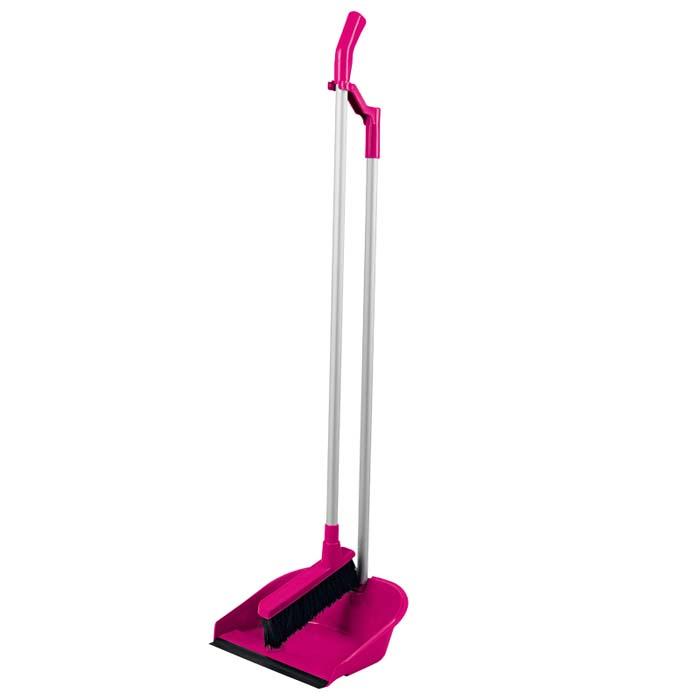 Набор Loks Super Cleaning: щетка, совок. L30-1023-1410507-AНабор Loks Super Cleaning широко используется как дома, так и в других помещениях. Набор включает щетку и удобный глубокий совок c резиновым уплотнителем на длинной ручке. Благодаря оригинальному форм-фактору обеспечивается компактное хранение. С наборомLoks Super Cleaning уборка займет гораздо меньше времени и сил!  Характеристики:Материал: алюминий, пластик, резина, синтетический ворс. Длина ручки совка: 78,5 см. Размер совка: 18,5 см x 24,5 см x 9,5 см. Размер щетки (с учетом ручки и длины ворса): 89 см x 18 см. Длина ворса щетки: 6,5 см. Производитель: Италия. Артикул: L30-1023-14.